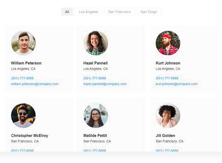 wordpress team members plugin