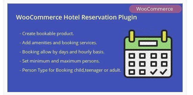 WooCommerce Hotel Reservation Plugin