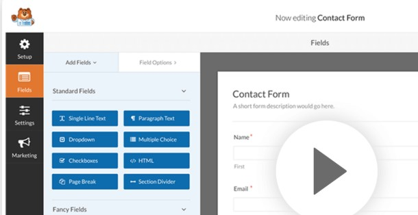 best wordpress form builder plugins